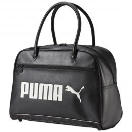 Retro taška přes rameno Puma Campus Grip Bag black/whisper white